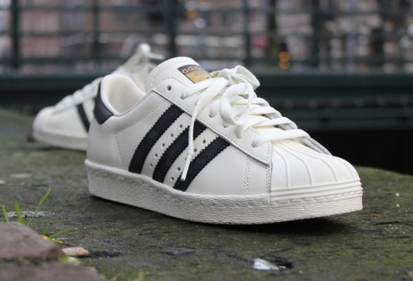 Adidas Superstar Vintage Deluxe White Black