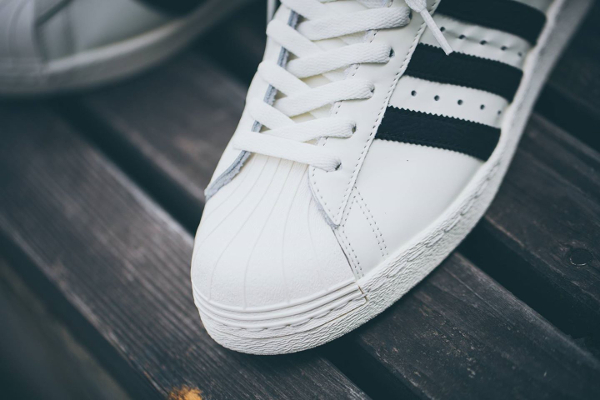 Adidas 80 Superestrella De Lujo Blanco WtrOme5OOC