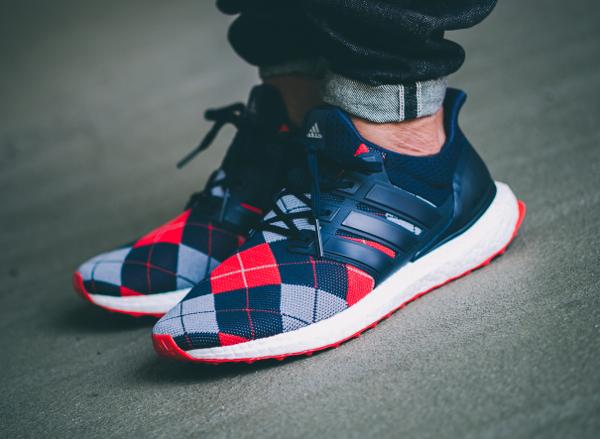 Adidas Ultra Boost Argyle x Kris Van Assche Night Navy