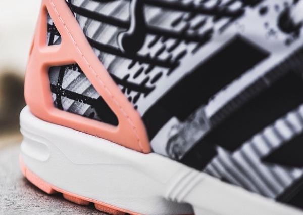Adidas ZX Flux Light Flash Orange