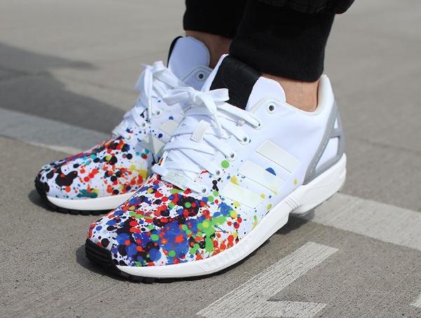 Adidas ZX Flux Splatter