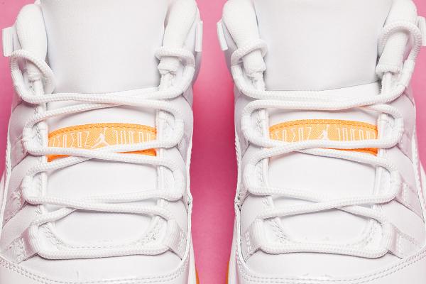 Air Jordan 11 Low GS White Citrus Retro 2015 (3)