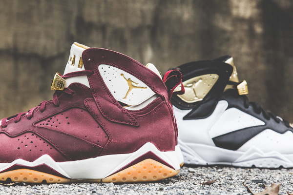 Air Jordan 7 Cigar Team Red Gold (2)