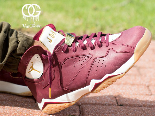Air Jordan 7 Cigar Team Red Gold (7)