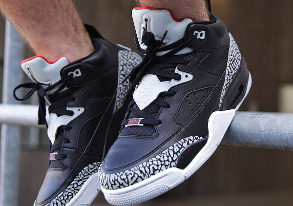 Air Jordan Son Of Mars Low Black Cement