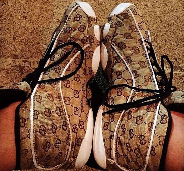 Contrefaçon Air Jordan 13 Gucci