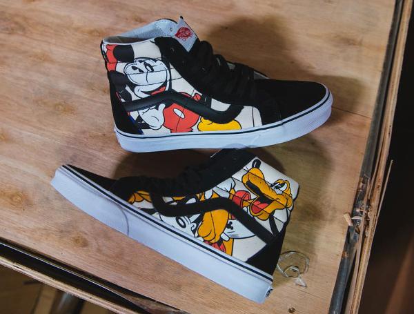 Disney x Vans Sk8 Hi Reissue Mickey & Friends (1)