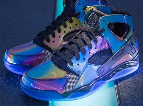 Nike Air Flight Huarache Quai 54 Rainbow
