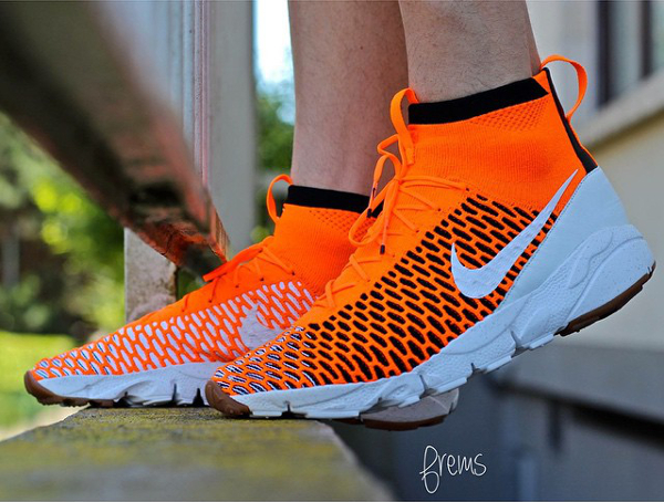 Nike Air Footscape Magista Netherlands Tournament aux pieds