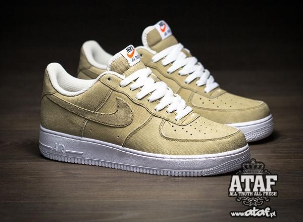 Nike Air Force 1 Low Hay Light Bone Yatch Club (1)