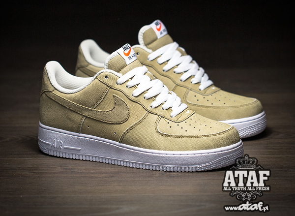 nike homme air force 1 low hay beige