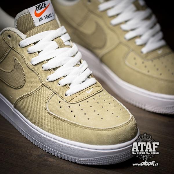 Nike Air Force 1 Low Hay Light Bone Yatch Club (4)