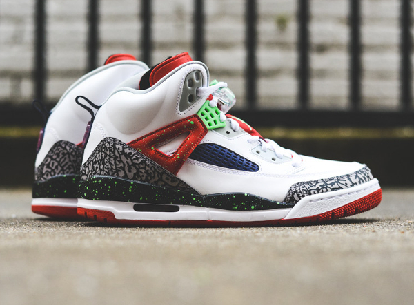 Nike Air Jordan Spiz Ike White Light Poison Green (1)