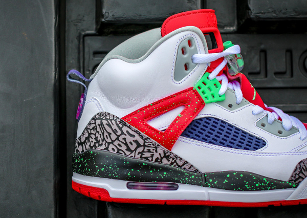 Nike Air Jordan Spiz Ike White Light Poison Green (4)