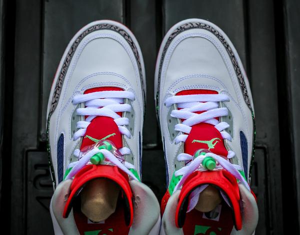 Nike Air Jordan Spiz Ike White Light Poison Green (5)
