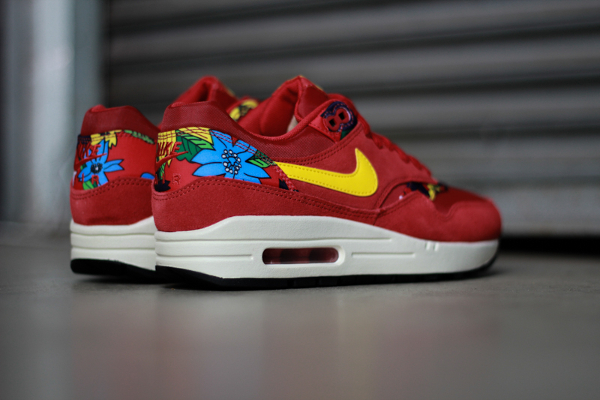Nike Air Max 1 Print Aloha Red Floral (1)