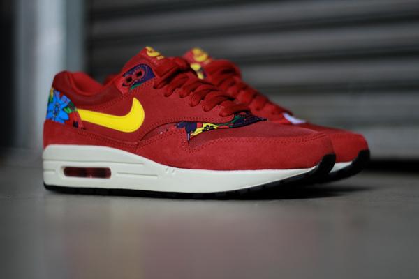 Nike Air Max 1 Print Aloha Red Floral (2)
