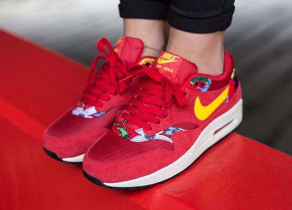 Nike Air Max 1 Print Aloha Red Floral (4)