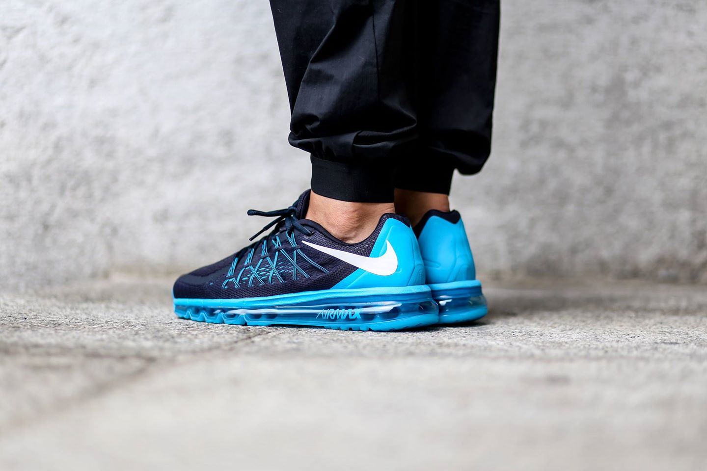 Nike Air Max 2015 Dark Obsidian White Blue Lagoon (1)