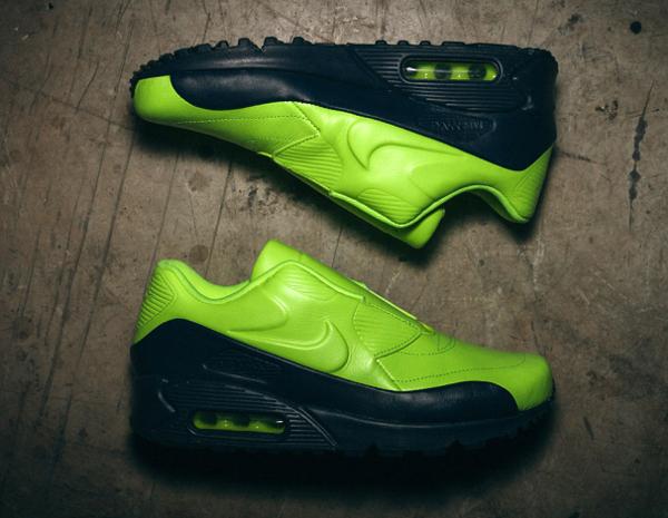 Nike Air Max 90 VT Slip On Volt x Sacai (3)