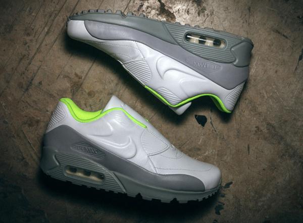 Nike Air Max 90 VT Slip On White Wolf Grey x Sacai (1)