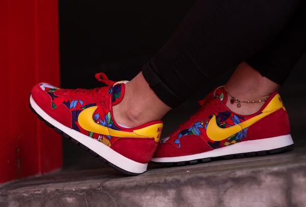 Nike Air Pegasus Print Aloha Red Floral (5)