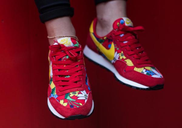 Nike Air Pegasus Print Aloha Red Floral (7)