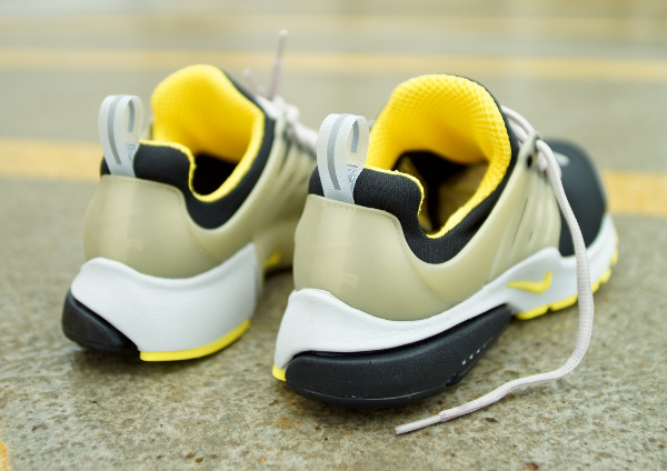 Nike Air Presto Black Grey Yellow Streak (4)