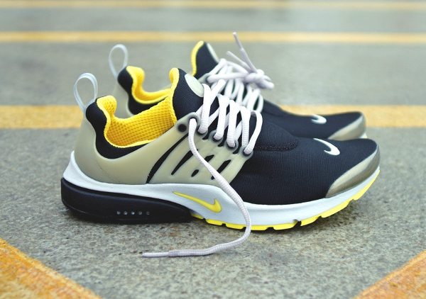 Nike Air Presto OG 2015 Black Grey Yellow Streak (0)
