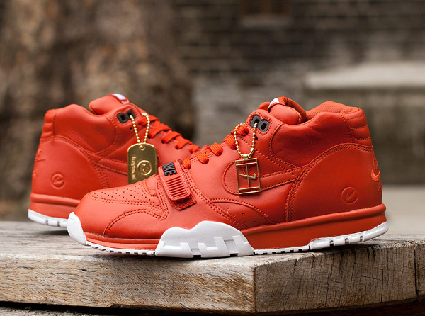 Nike Air Trainer 1 x Fragment Rust