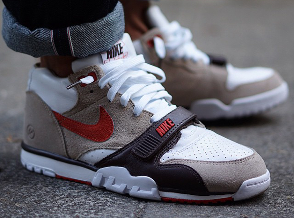 Nike Air Trainer 1 x Fragment Sculpted Clay (2)