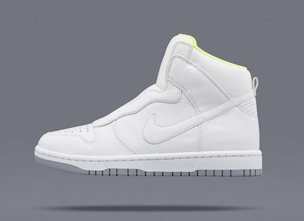 Nike Dunk High Lux Slip On White x Sacai (1)