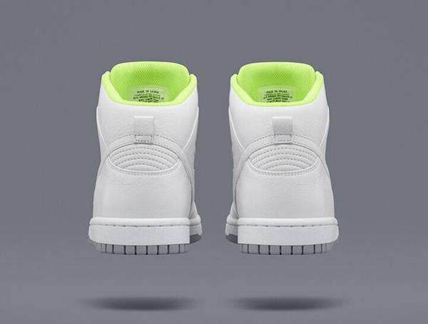 Nike Dunk High Lux Slip On White x Sacai (3)