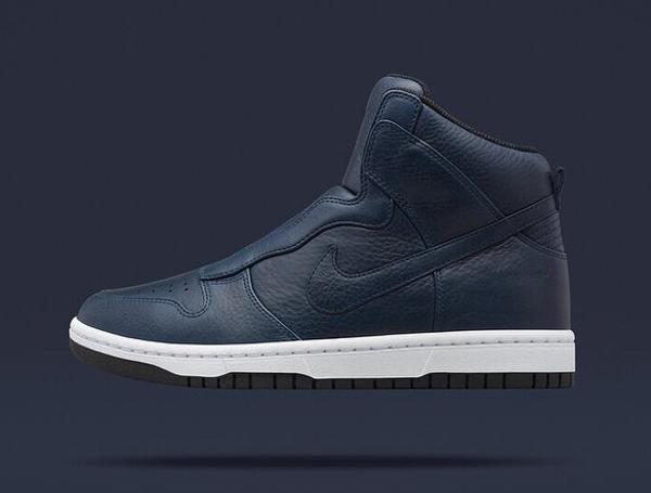 Nike Dunk High Lux Slip On x Sacai Royal Blue (1)
