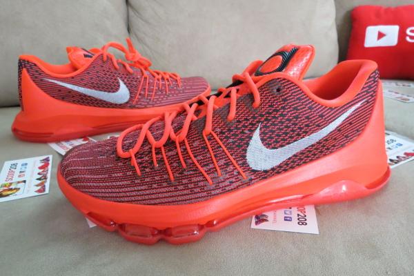 Nike KD 8 Red Crimson