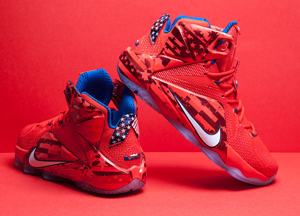 85372794265 Nike Lebron 12 4th of July (2)