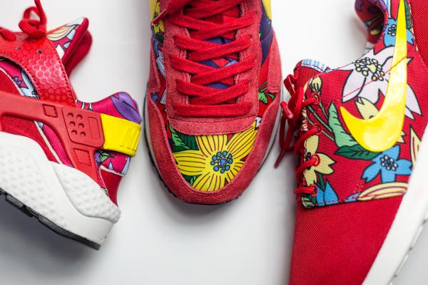 Nike Print Aloha Red Floral