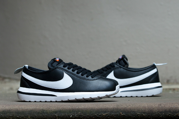 Nike Roshe Cortez NM SP Black White (1)