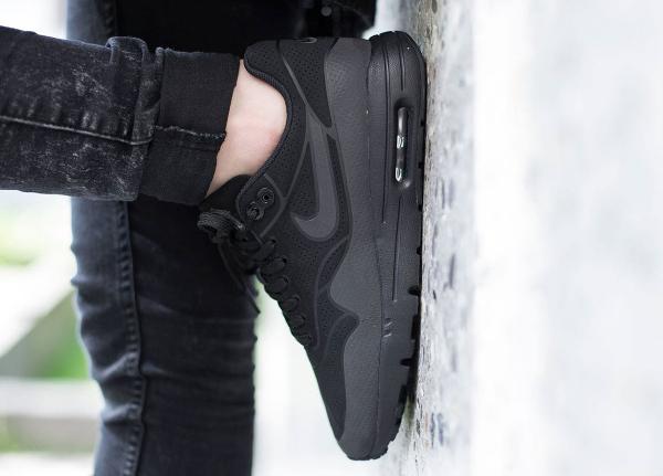 Nike Wmns Air Max 1 Ultra Moire Black (noire) (2)