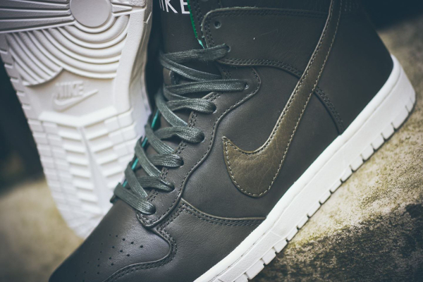low priced 3373f 6ccbd nike lunar dunk high lux sp tz sequoia