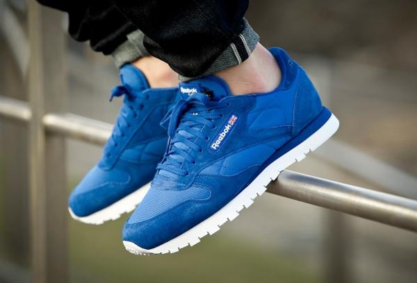 Reebok Classic Leather Cordura Blue