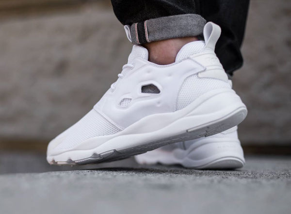 the latest 8ffdf 4ccd9 Reebok Furylite blanche (White White) (7)