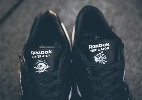Reebok Ventilator Black White x Crossover (2)