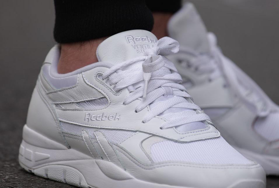 Reebok Ventilator Supreme White (toute blanche) (8)