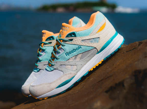Reebok Ventilator x Packer Shoes (Paperwhite Crystal Blue) (1)