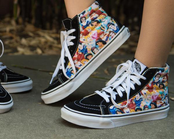 Vans Sk8 Hi Slim Princess x Disney : où l'acheter ?