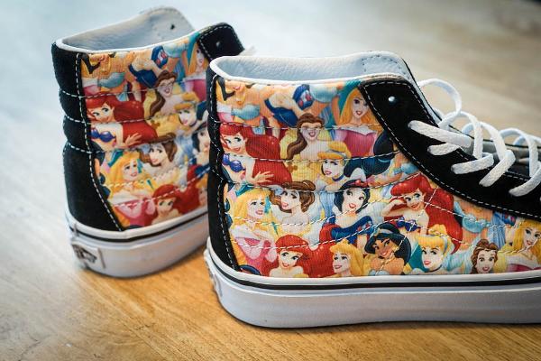 Vans Sk8 Hi Slim x Disney Young At Heart Princess (4)