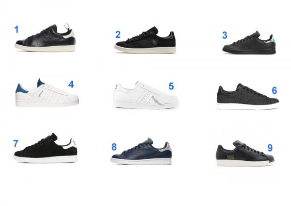 Adidas Stan Smith & Adidas Superstar : 15 modèles en soldes