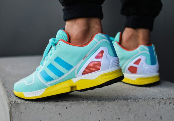 best service 35b99 7f893 Adidas ZX Flux Techfit OG Aqua & Hydra | Sneakers-actus