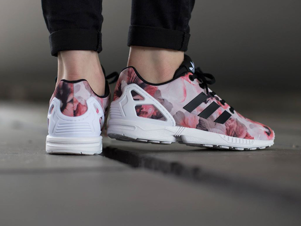 sports shoes 3020d 95dbe Adidas ZX Flux Pink Flowers : où l'acheter ?